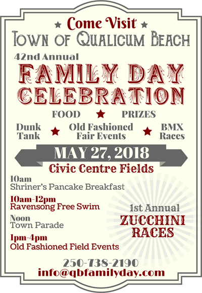 42nd Annual Qualicum Beach Family Day