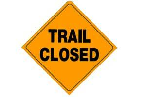 Grandon Creek Trail Closed
