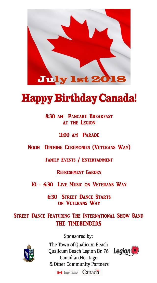 Canada Day Events!