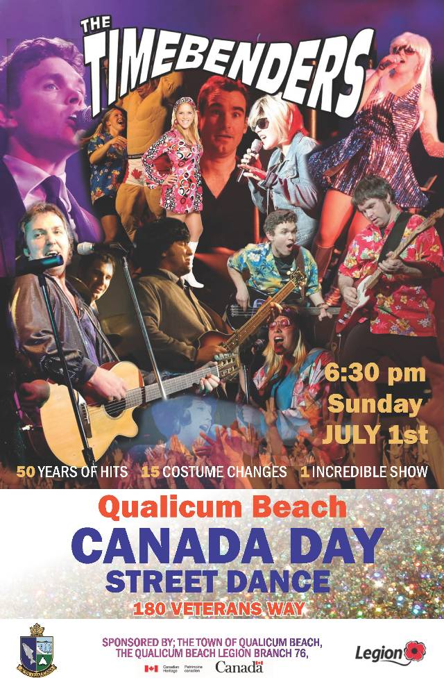 Timebenders on Canada Day on Veterans' Way